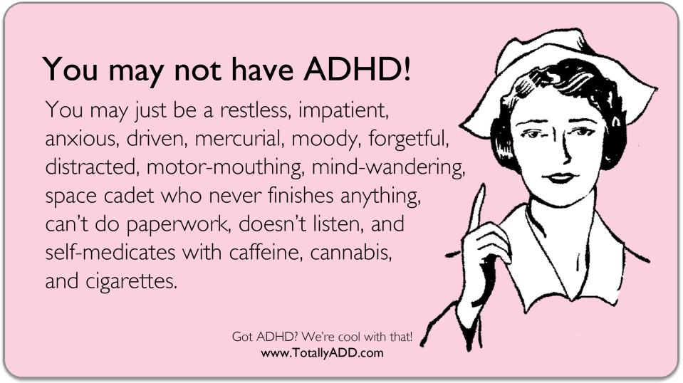 do adults have adhd