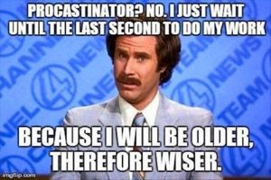 procrastinate 5
